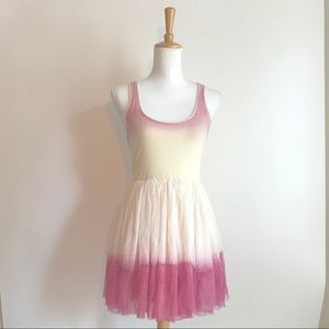 Boutique Brand Lost Pink Taffeta Dress Size XS
